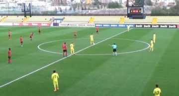 VIDEO: El Villarreal División de Honor demostró la gran diferencia con el Alboraya a base de pegada (4-1)
