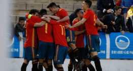 España se impuso con clase a Bélgica y se jugará ante Francia la clasificación para el Europeo Sub-19 (3-0)
