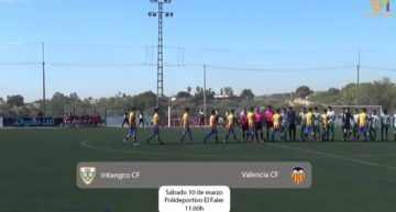 VÍDEO: El Valencia derrotó al Intangco y acaricia el título en Liga Autonómica Cadete (0-1)