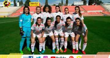 España Sub-17 Femenina se impuso a Rusia y sólo necesita un punto para entrar a la fase final (4-0)