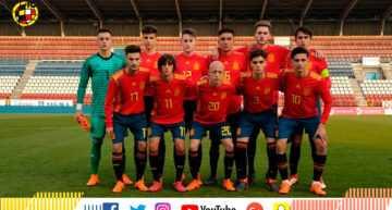 España Sub-17 corrigió el rumbo ante Chequia y se la jugará contra Serbia (2-0)