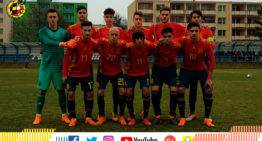 A la España Sub-17 de Denia le bastó un punto ante Serbia para defender su corona en el Europeo 2018 (1-1)