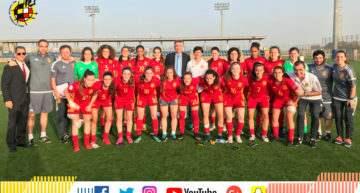 La Selección Española Sub-17 Femenina arranca el Preeuropeo ganando con contundencia a Israel (7-0)