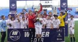 Sevilla, Betis, PSG y Atlético de Madrid, primeros campeones del MIC