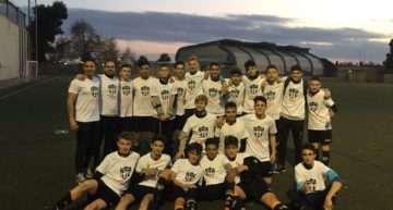 El Cadete C del Patacona, campeón de Liga 2017-2018 y ascenso a Primera Regional con pleno de triunfos
