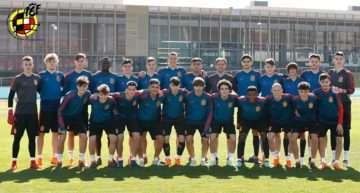 Baena, Estació y Morante estarán con España Sub-17 en la Eurocopa de mayo