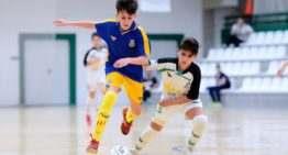 La Selección FFCV Sub-12 de futsal culmina un miércoles redondo: victorias ante Andalucía y Extremadura