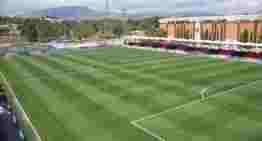 Todo preparado en el Camilo Cano de La Nucía para la finalísima de la Fase Autonómica de Copa RFEF