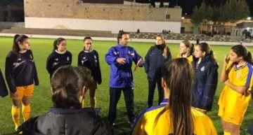 Más rodaje para la Selección FFCV Sub-16 Femenina el martes 24 de abril