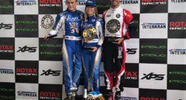 Nerea Martí se impuso en las Series Rotax de karting y lidera el campeonato