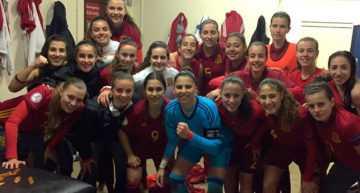 España asegura su presencia en el Europeo Sub-19 Femenino tras derrotar a Rep. de Irlanda (3-0)