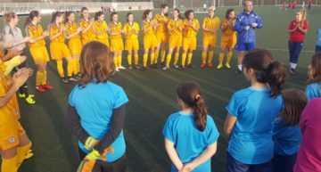 La Selección FFCV Sub-14 Femenina, invitada de lujo al Clinic de futfem el martes 22