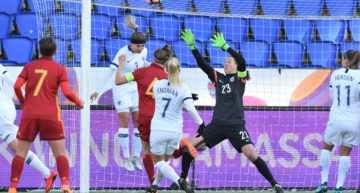 Cuarta victoria seguida de la Selección Española Femenina ante Finlandia (0-2)