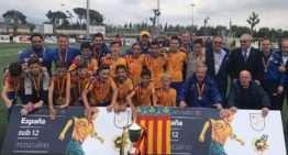 Homenaje a los campeones de España Alevines de 2017 el próximo 11 de abril en Burjassot