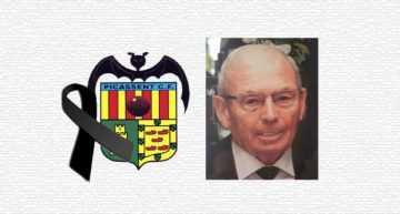 Lágrimas en Picassent tras el fallecimiento del histórico ex presidente José Albert