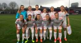 España Sub-19 Femenina arranca su Ronda Élite con mucha superioridad ante Turquía (5-0)