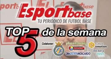 VÍDEO: Esportbase Top 5 – Semana del 2 al 8 de abril de 2018