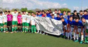 VIDEO: El fútbol base de Andalucía y toda España se vuelca con Aitor, el Benjamín atropellado por un conductor ebrio