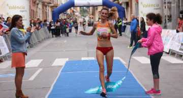 Maria José Cano arrasó en la 15k de la Pobla de Vallbona