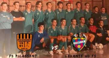 Homenaje a José Vicente Tronchoni del FS Picassent este sábado