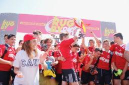 GALERÍA: CAU Valencia se hizo con el título de Campeón de España de Rugby s16 en Oliva Nova