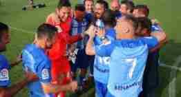 El Málaga CF conquista el Campeonato de España de Veteranos en Oliva Nova