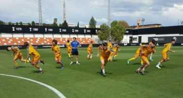 Los Cadetes de la Selección FFCV, preparados para el reto de conquistar el Campeonato de España Sub-16 en Paterna