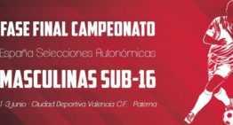 La Fase Final del Campeonato de España Sub-16 podrá verse en directo por el streaming de la RFEF