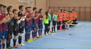 Así fue el emotivo homenaje del FS Picassent a José Vicente Tronchoni
