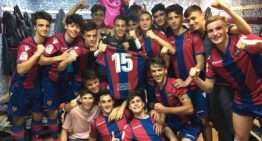 Justo campeón granota: una segunda vuelta impecable devuelve al Levante UD la supremacía en Liga Nacional Juvenil