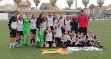 El VCF Femenino venció al Marítim y se proclamó campeón del Grupo 1 Cadete-Infantil