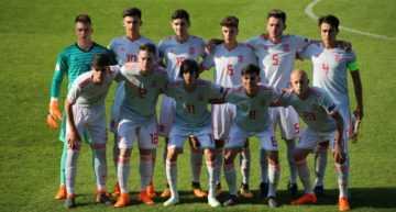 Estació y Morante juegan los noventa minutos en el costoso triunfo de España Sub-17 ante Serbia (0-1)