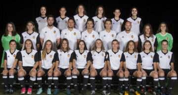 Valencia y Levante se juegan el campeonato de liga en el Grupo 1 de la categoría Cadete-Infantil femenino