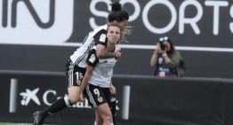 Marta Peiró dio el triunfo al VCF Femenino en el minuto 93 ante el Zaragoza CF Femenino (1-0)