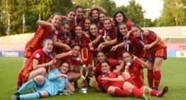 VIDEO: ¡Disfruta de los golazos de Eva Navarro y de la victoria de España Sub-17 en el Europeo Femenino!