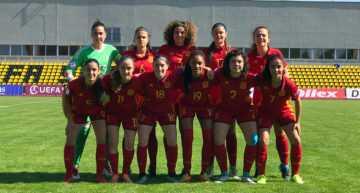 La Selección Española Sub-17 Femenina arrancó el Europeo con empate ante Italia (0-0)