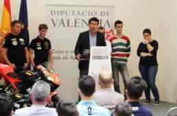 La Diputació renueva un año más su implicación con las promesas del motor valenciano