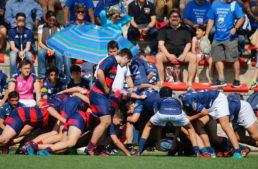 Más de 60 partidos disputados en la primera jornada del Campeonato de España de rugby Infantil en Oliva Nova