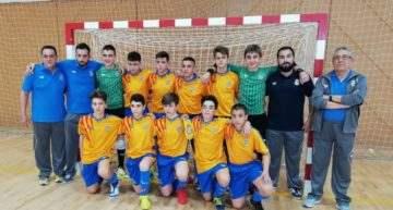 Derrota dolorosa de la Selección FFCV de futsal ante Murcia en el Nacional Sub-14