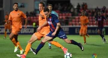 Alboraya UD presume de Rulo Prieto, futbolista de la SD Huesca con pasado en su escuela