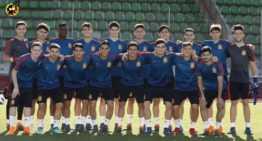 Seis futbolistas representarán al fútbol valenciano con España Sub-18 en los Juegos del Mediterraneo