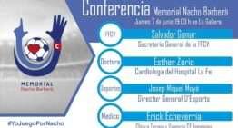 Conferencia de la UD Alzira por el Memorial Nacho Barberà este jueves 7 de junio