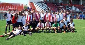 El CD Acero presentó en sociedad su equipo de fútbol inclusivo en la II Inclusión Cup ESPORTBASE