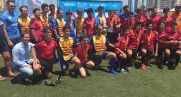 Castilla La Mancha se convierte en primer Campeón de España de Rugby Seven Inclusivo en Edad Escolar