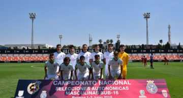Andalucía se impone a Madrid y será el rival de la FFCV en la Final del Campeonato de España Sub-16 (1-3)