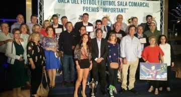 VIDEO: Revive la gala de Entrega de Premios al Fútbol y Fútbol Sala Comarcales 2017-2018