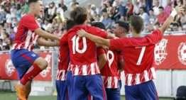 El Atleti Juvenil se impuso al Madrid en la final de Copa y logra la 'triple corona' esta temporada (3-1)