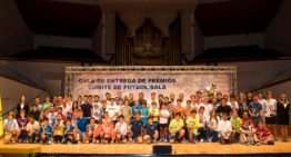 La Entrega de Premios al fútbol sala de Valencia 2017-2018 se celebra este miércoles 20 de junio