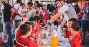 GALERÍA: La Fiesta de Querubines 2017-2018 del Alboraya UD, en Plaza Deportiva