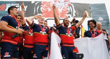 CR El Salvador y CRAT Coruña, Campeones de España Seven en el Valencia Rugby Festival